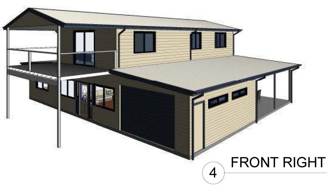 The Country Barn House - Modular Steel Kit Homes
